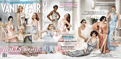 """Vanity Fair"" zeigt die neuen sexy Hollywood-Beautys (Bild: Vanity Fair)"