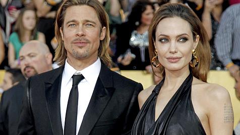 Angelina Jolie soll mit Zwillingen schwanger sein (Bild: AP)