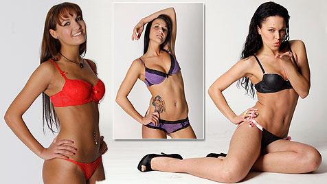 """Die Bilder vom heißen """"Playboy""""-Casting in Wien (Bild: Reinhard Holl, krone.at-Grafik)"""