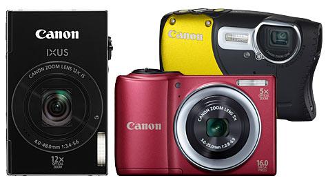 Canon präsentiert neue PowerShot- und Ixus-Modelle (Bild: Canon)