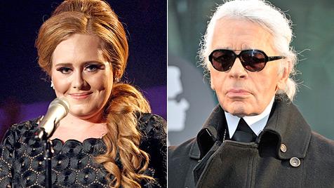 "Karl Lagerfeld lästert: ""Adele ist viel zu fett!"" (Bild: AP EPA)"