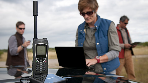 Forscher knacken abhörsichere Satellitentelefone (Bild: AP)