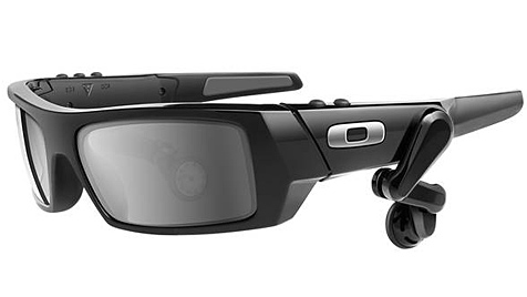 Google-Brille mit Android-Display soll noch 2012 kommen (Bild: Oakley)