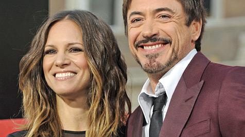 Hollywoodstar Robert Downey Jr. ist Papa geworden (Bild: AP)