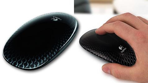 Logitechs Touch Mouse M600 will gestreichelt werden (Bild: Logitech)