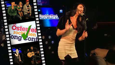 Was wissen unsere Song-Contestler über Baku? (Bild: krone.tv)