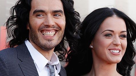 Russell Brand verzichtet auf Katy Perrys Vermögen (Bild: AP)