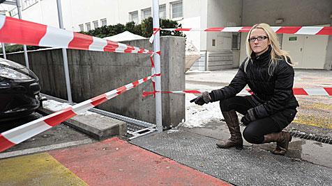 """Frau wartete eine Stunde """"wie ein Frosch"""" auf Hilfe (Bild: Foto Kerschi)"""