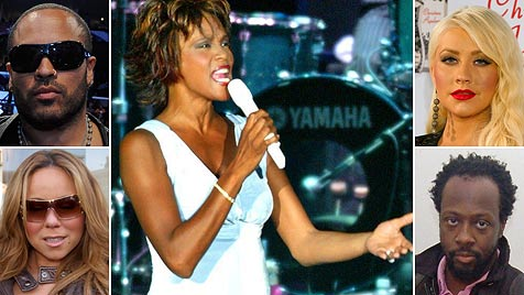 Stars trauern via Twitter um Whitney Houston (Bild: EPA)