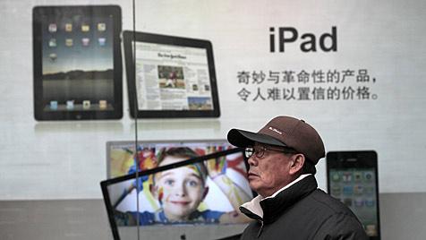 Behörden in China beschlagnahmen Apples iPad (Bild: AP)