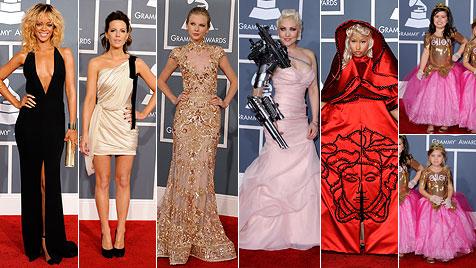 Die Fashion-Flops und -Tops bei der Grammy-Verleihung (Bild: AP, EPA)