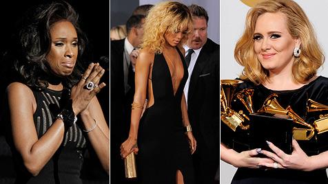 Trauer um Whitney Houston ++ Sechs Preise für Adele (Bild: dapd)