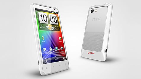 A1 bringt erstes LTE-Smartphone auf den Markt (Bild: HTC)