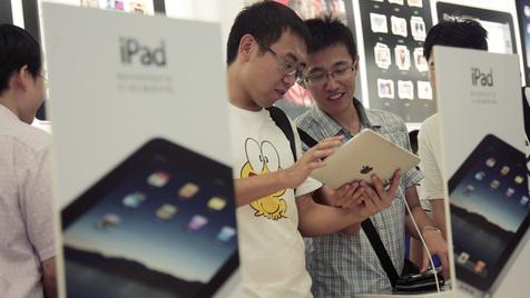 Apple droht Exportverbot für iPads in China (Bild: AP)