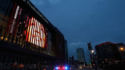 Trauerfeier für Whitney Houston wird live übertragen (Bild: dapd)