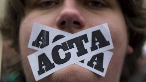 Das umstrittene ACTA-Abkommen (Bild: dapd)