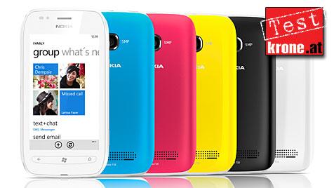 Lumia 710: Der Finnen zweiter Windows-Streich (Bild: Nokia)