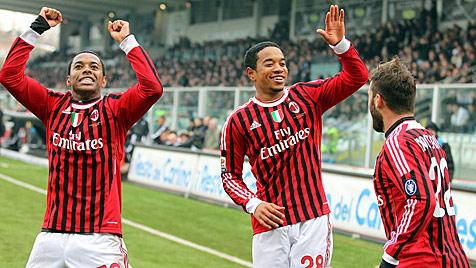 AC Milan verdr�ngt Juve wieder von der Tabellenspitze (Bild: EPA)