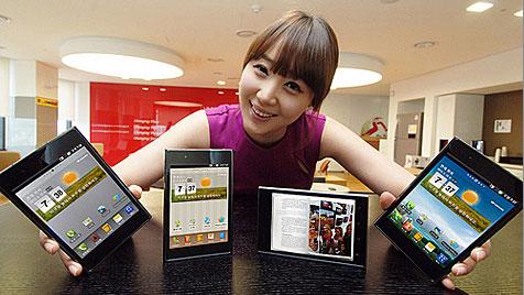 Auch LG bringt Mischung aus Tablet und Smartphone (Bild: LG)