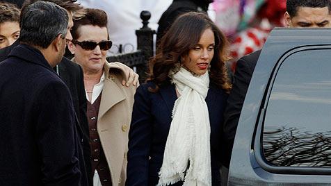 Bewegende Trauerfeier für Whitney Houston (Bild: dapd)