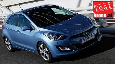 Hyundai i30: Da scheppert nur die Konkurrenz (Bild: Hyundai)