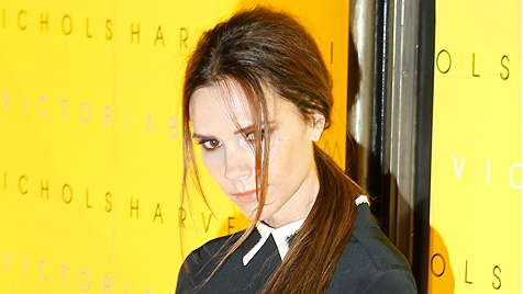 Victoria Beckham will von Burn-out-Krise nichts merken (Bild: AP)
