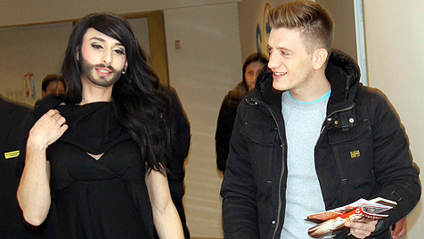 Wettquoten: Diva Conchita Wurst liegt klar vorne (Bild: CHRISTIAN JAUSCHOWETZ)