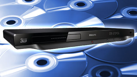 Gut und günstig: Blu-ray-Player überzeugen im Test (Bild: thinkstockphotos.de, philips.com, krone.at-Grafik)