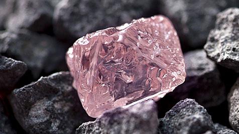 13 Karat schwerer rosa Diamant in Australien gefunden (Bild: Rio Tinto)