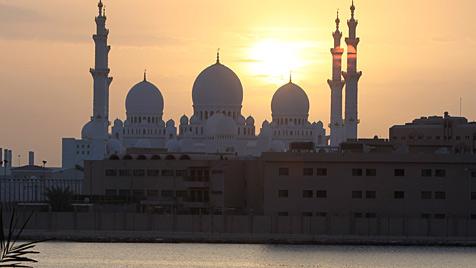 Luxus und Kultur: Abu Dhabi hat von allem reichlich (Bild: EPA)