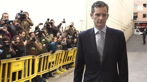 """Erstmals spanischer Royal vor Gericht: """"Bin unschuldig"""" (Bild: EPA)"""