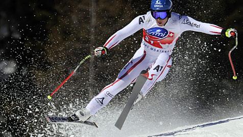 Raich holt Super-G, Hirscher f�hrt weiter im Weltcup (Bild: EPA)