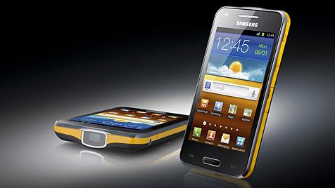 """Beamer an Bord: Samsung kündigt """"Galaxy Beam"""" an (Bild: Samsung)"""
