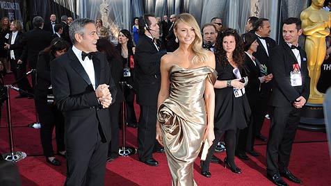 Hauptrollen-Oscars für Meryl Streep und Jean Dujardin (Bild: EPA)