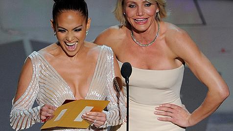 J.Lo entgeht bei Oscar-Verleihung knapp Busenblitzer (Bild: dapd)