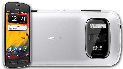 Nokia-Smartphone mit 41-Megapixel-Kamera (Bild: Nokia)
