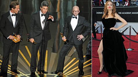 Angelina Jolie sauer über Verspottung ihres rechten Beins (Bild: EPA AFP)