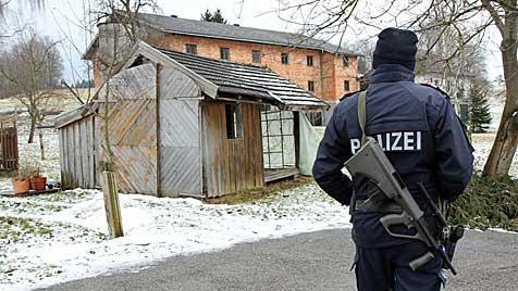 Bankräuber nach einer Stunde Flucht von Polizei gestellt (Bild: salzi.at)
