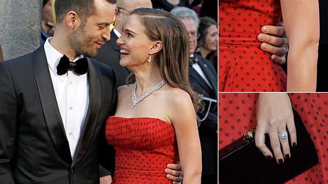 Heimliche Hochzeit bei Natalie Portman und ihrem Liebsten? (Bild: AP AFP)