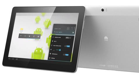 "Huawei kündigt Quad-Core-Tablet ""MediaPad 10"" an (Bild: Huawei)"