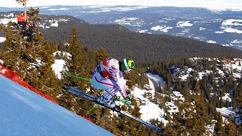 Kröll in Kvitfjell auf Rang drei, Jansrud wieder mit Bestzeit (Bild: AP)