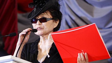 Lennon-Witwe Yoko Ono erhielt in Wien Kokoschka-Preis (Bild: APA/Georg Hochmuth)