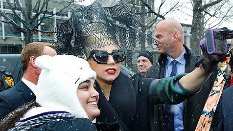 """US-Popstar Lady Gaga  wirbt für """"Kultur der Liebe"""" (Bild: AP)"""