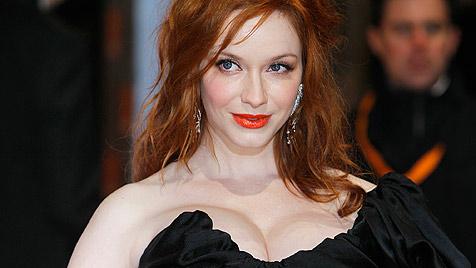 Oben-ohne-Foto von sexy Christina Hendricks im Netz? (Bild: dapd)