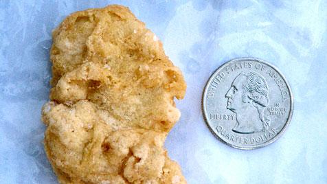 6.100 Euro für drei Jahre altes Chicken Nugget (Bild: dapd)