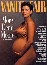 """Hochschwangere Jessica Simpson nackt auf der """"Elle"""" (Bild: AP)"""