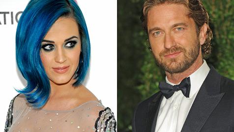 Katy Perry soll mit Gerard Butler angebandelt haben (Bild: AP)