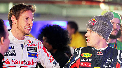 Red Bull h�lt Button f�r Vettels gr��ten WM-Rivalen (Bild: EPA)