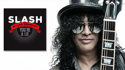 "Slash stellt neue Single ""You""re A Lie"" vor (Bild: Warner Music)"