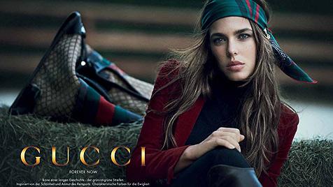 Charlotte Casiraghi drehte Gucci-Spot mitten in Wien (Bild: Gucci)